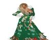 christmas rwindeer gown