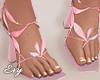 Pink Petal Heels