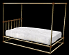 Poseless Brass Bed