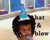 kids Mermaid Hat Blower