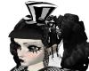 [ML] stripe lolita hat