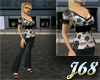 J68 Eve White Outfit