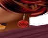Celtic earr. red