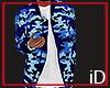 iD; Blue Camo Jacket