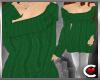 *SC-Snugly Sweater Green