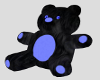 BLACK & BLUE TEDDY BEAR