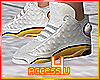 ! Gold Modern Sneakers M