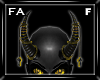 (FA)ChainHornsF Gold