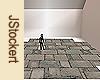Stone Path #3 - Cross