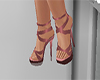 pink copper shoes