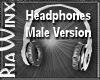 Headphones Male Ver