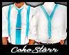 Cool Blue Suspenders