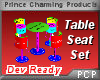 PCP~Table Seat Set