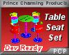 PCP~Table Seat Set