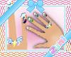 {Zu} Rainbow Dash Nails