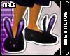 Black/Purple BunnySlip.