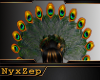 Peacock Headdress Ladies