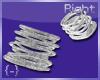 {-} Bangles Right Silver