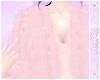 ✿Layer Pink Fur Jacket