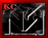 $YM$ Mafia Hat Blk/Red