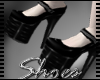 .Pvc Studded Heels.