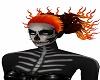 Halloween Fire Hair
