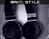 M:Headphones Blk