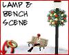 [m] Bench/Lamp Scene
