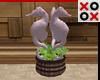 Seahorse Decor Planter
