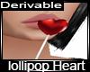 lollipop heart candy