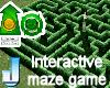 Interactive Maze Game
