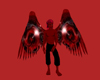 Wings Red Vamp Dwn