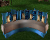 stella blue couch