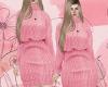 D : :Pink Winter Dress