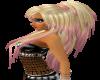 blonde pink violette