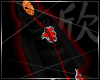 Hooded Akatsuki cloak