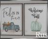 Rus:Fall Frames Set of 2