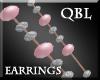 Summer Pink Earrings