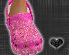 *CROCS Pink DiamondShoes
