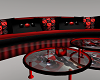 Black and Red Play Sofa