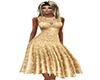 ~N Vintage Gold Cocktail