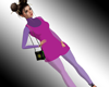 VL Med Mini Dress + Bag