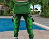 Green Fallen Overalls M