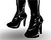 PVC knee-high Male Heels