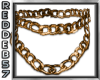 Gold Double Thick Chain