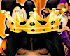Queen YellowGold Crown