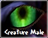 Creature Green Eyes M
