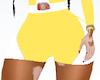 Yellow PowerRanger Short
