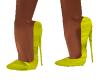 Emily Yellow Heels
