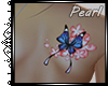 [P]Tattoo-Bk Butterfly